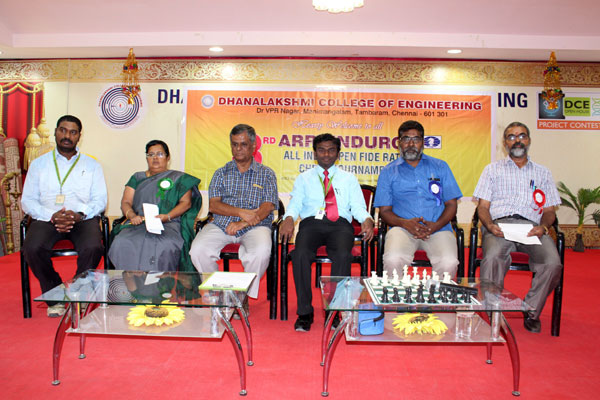 3rd Arrvindurga - All India Open Fide Rated Chess Tournament