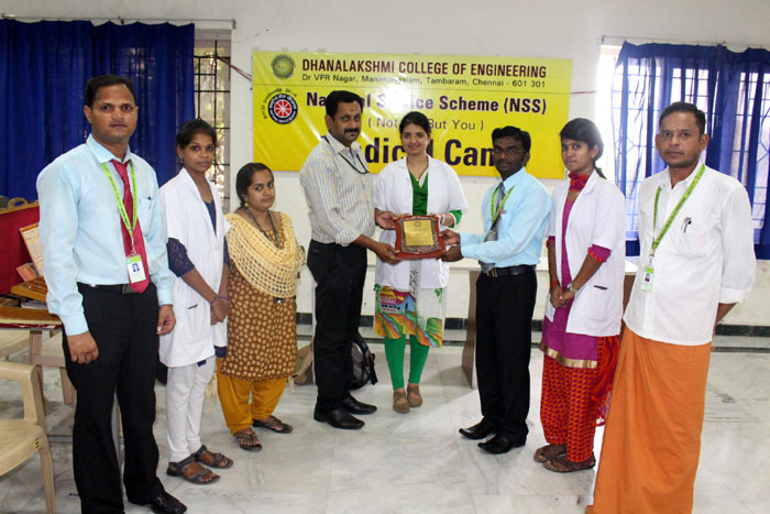 Medical Camp organized by NSS Unit,  on 10 Sep 2016